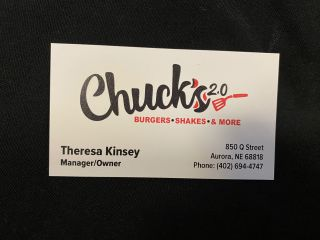 [Chuck's 2.0 Burgers, Shakes & More]