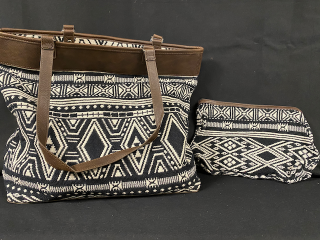 [Reversible Tote and Pouch]