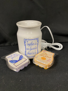 [Together Is Our Favorite Scentsy Warmer and Scents]