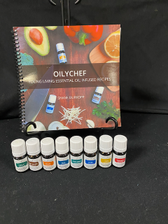 [Young Living Oil Infused Recipe Book and Oils]