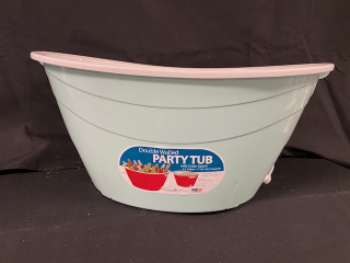[Party Tub with Drain Spout]