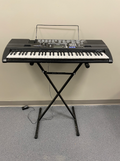 [Casio Electronic Keyboard with Stand]