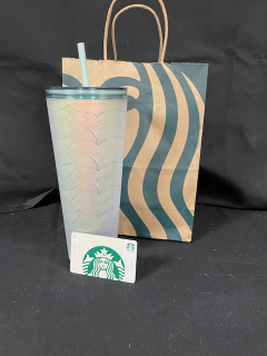 [Starbucks Gift Card and Cup]