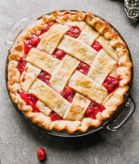 [2 Homemade Pies by Janae McHargue]